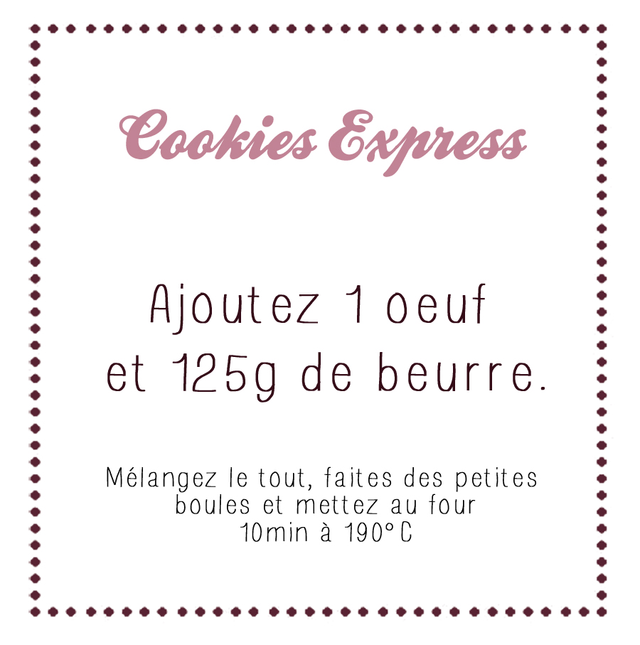Hervorragend DIY : Un kit « Cookies Express » | Carnet Prune⎪Blog beauté  PW92
