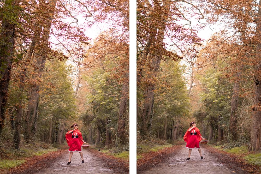 Le Petit Chaperon Rouge un classique d'Halloween !