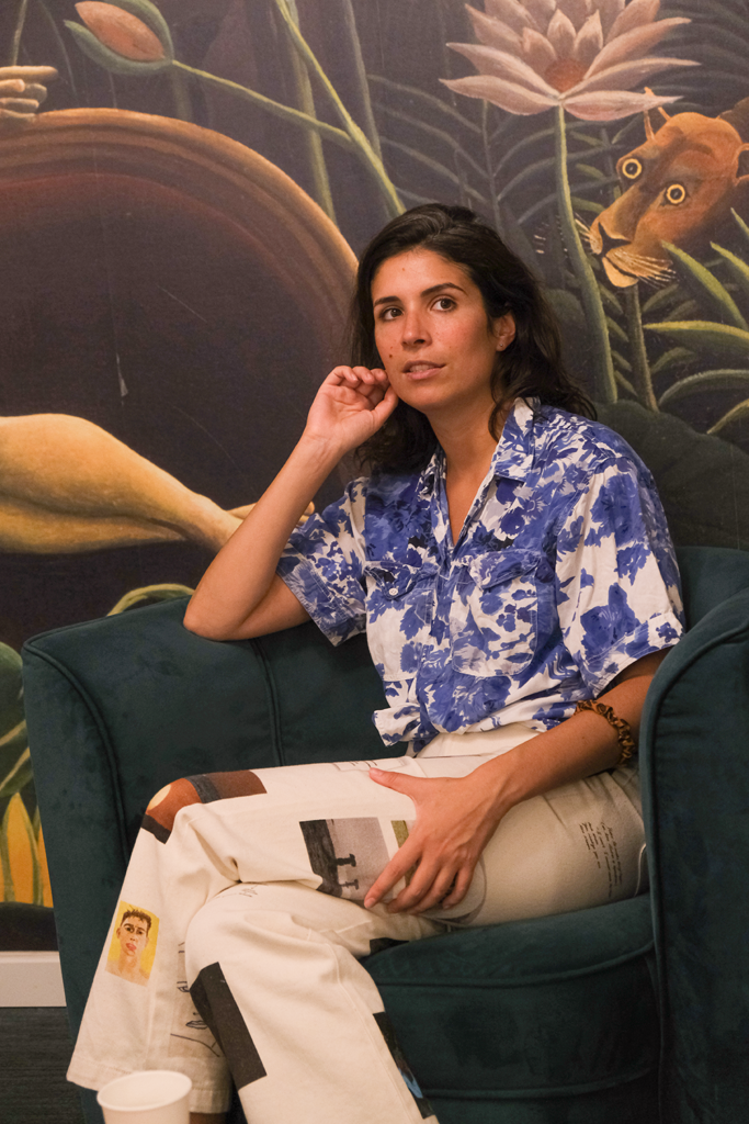 Caroline Briant, co-fondatrice de Moodz, la marque de culottes menstruelles