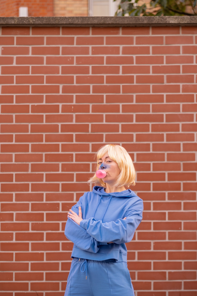 Un de mes déguisements d'halloween : Violet Beauregard