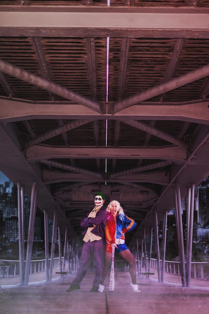 Déguisements Harley Quinn et le Joker pour Halloween